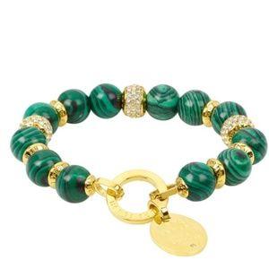 Henri Bendel Influencer Semi Bead Stretch Bracelet